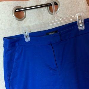 Jones and Co Blue Capri Business Pants Size 8